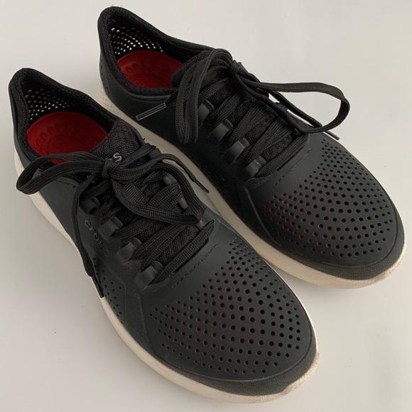 Crocs Black Literide Pacer Waterproof